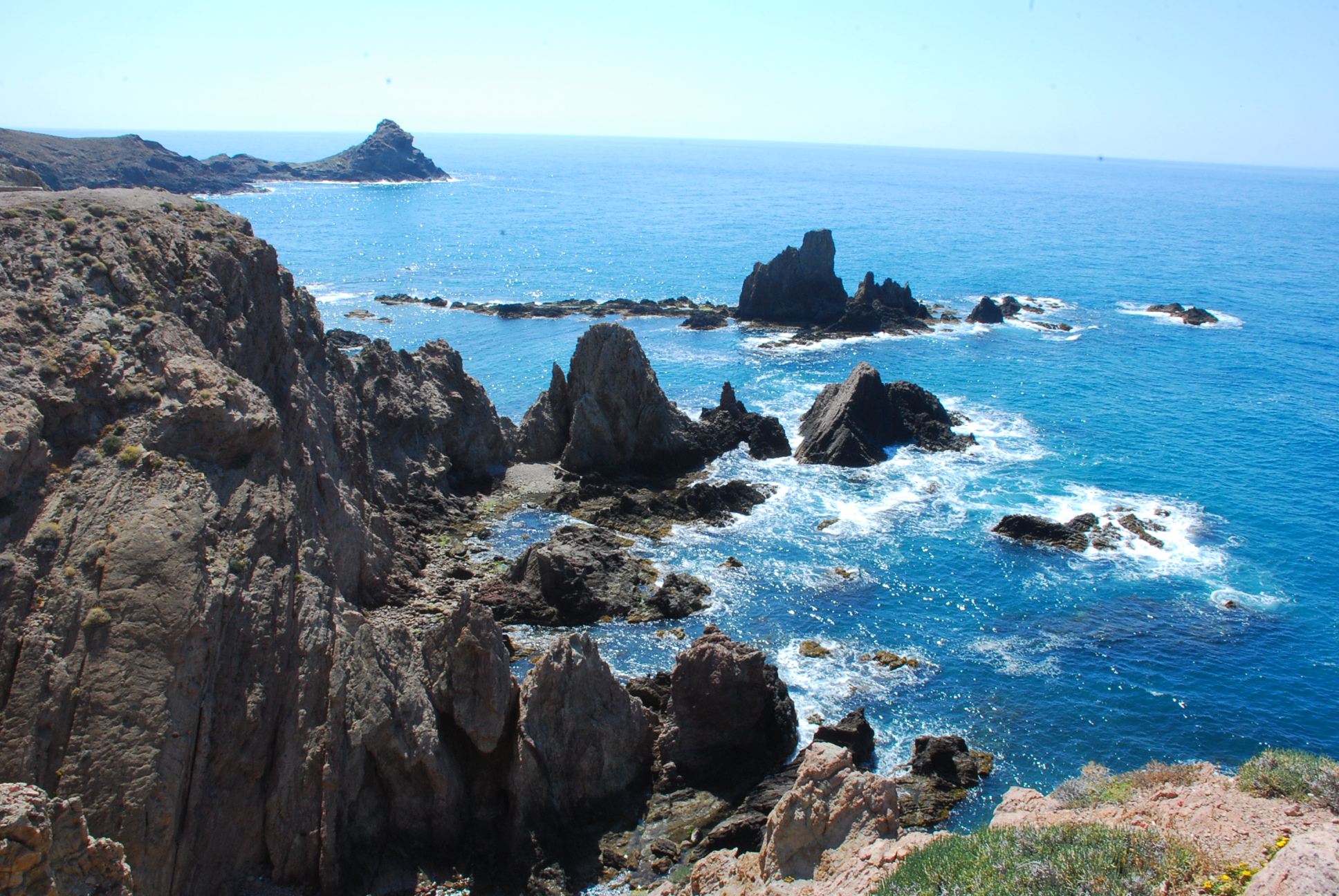 Cabo de gata nature park costa de almeria andalusia holiday houses - Costa sol almeria ...